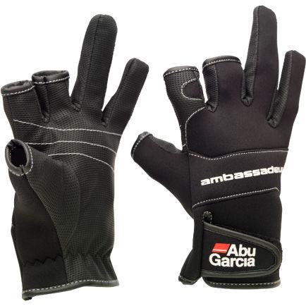Abu Garcia Neoprene Gloves #L