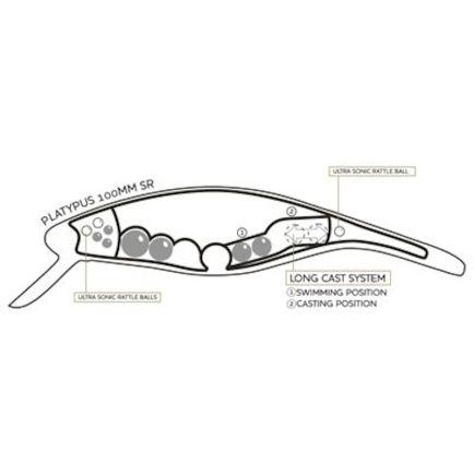 Kalastuskunn Muska 1 1.5cm/1pc