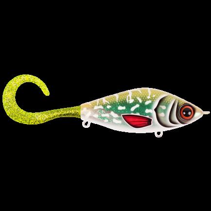 Strike Pro Guppie Glitter Pike - Green/Gold Glitter 13.5cm/120g