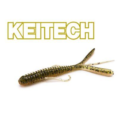 "Keitech 3"" Hog Impact Green Weenie  7cm/1g/12pcs"