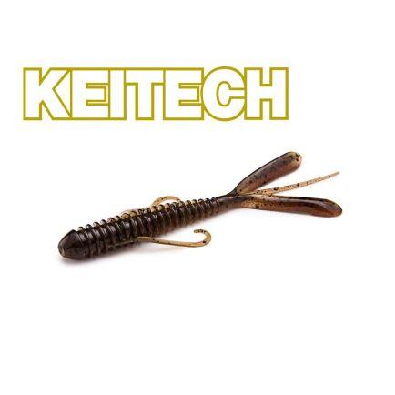 "Keitech 3"" Hog Impact Red Crawdad 7cm/1g/12pcs"