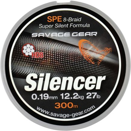 Savage Gear HD8 Silencer Braid Green 0.32mm/32.0kg/120m