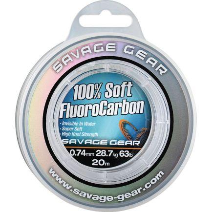 Savage Gear 100% Soft Fluorocarbon 0.46mm/12.3kg/35m