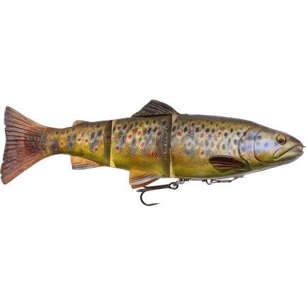 Savage Gear 4D Line Thru Trout Dark Brown Trout 20cm/98g