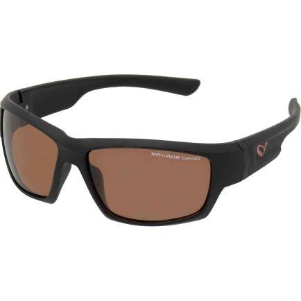 Savage Gear Shades Polarized Sunglasses - Amber
