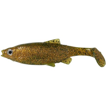 Savage Gear 3D LB Roach Paddle Tail Muddy Roach 10cm/10g