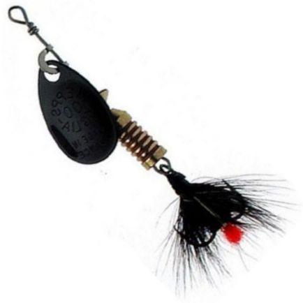 Mepps Aglia Mouche Black/Black Tail #2 / 4.6g