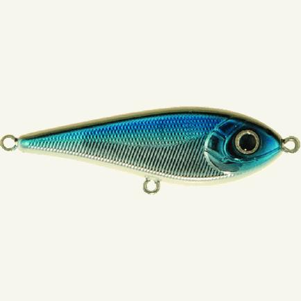 Strike Pro Tiny Buster 114E Blue Chrome 6.8cm/10.3g