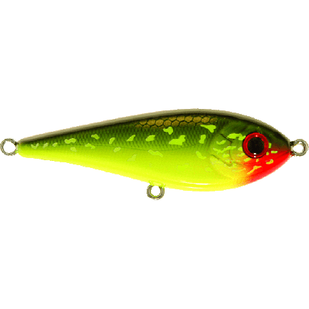 Strike Pro Tiny Buster C202 Hot Pike 6.8cm/10.3g