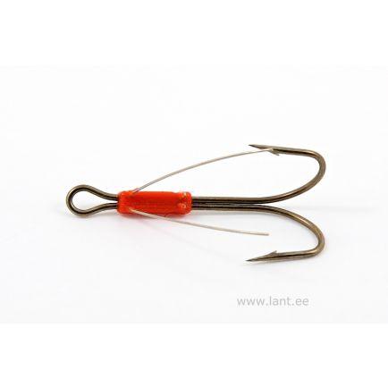 Kuusamo weedless double hook #2/0 / 1pc