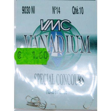 VMC Vanadium hooks 9030 No 14/10pcs