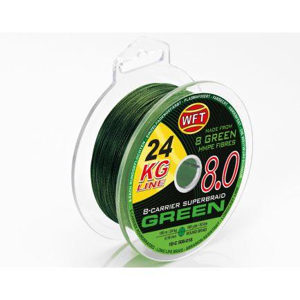 WFT KG 8.0 Green 0.10mm/13kg/150m