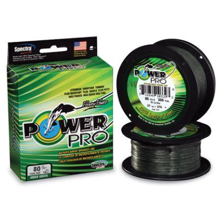 PowerPro Moss Green 0.08mm/4.0kg/135m