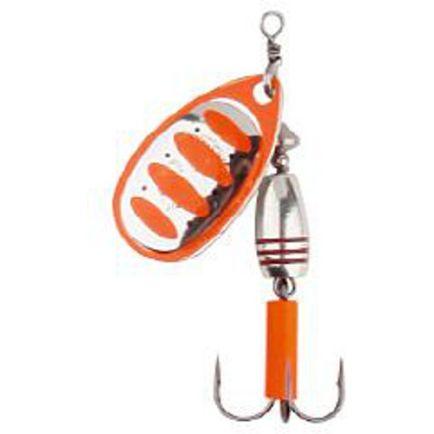 Rotex Spinner Fluo Orange Silver #3/8.0g