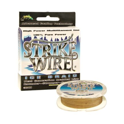 Strike Pro Strike Wire Ice Braid Grey 0.06mm/4.0kg/35m