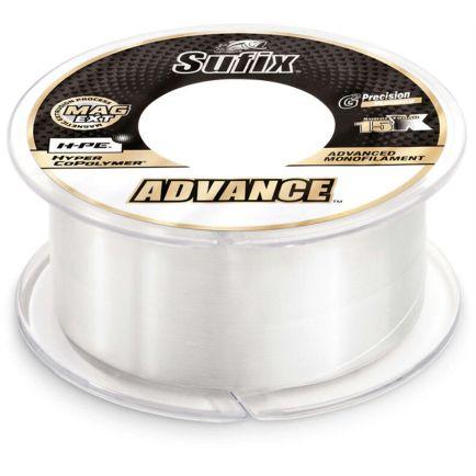 Sufix Advance Monofilament Clear 0.18mm/3.4kg/150m