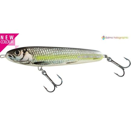 Salmo Sweeper Siver Chartreuse Shad 10cm/19g