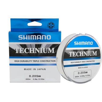 Shimano Technium Grey 0.18mm/3.20kg/200m