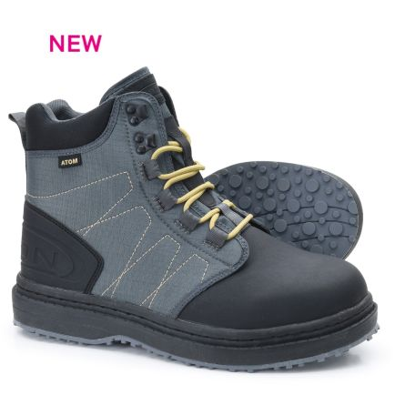 Vision Atom Wading Boots Gummi sole #9/42