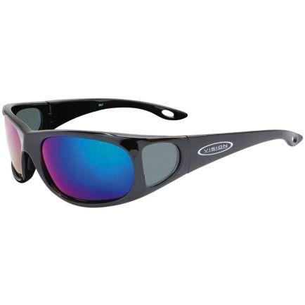 Vision Sunglasses Mirrorflite BAT Bronze Disco Mirror