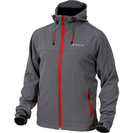 Westin W4 Softshell Jacket size XL Steel Grey